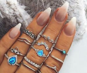 beauty, nail art, and chic image