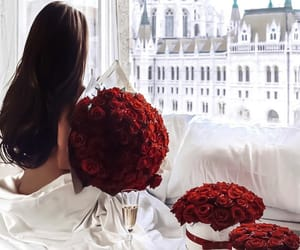 roses, flowers, and style image