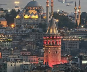 istanbul, city, and mosque image