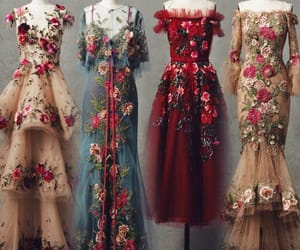 dresses, vintage, and فساتين image
