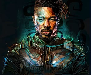 art, black panther, and bp image