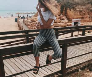 beach, casual, and fashion image