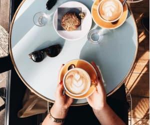 coffee, dark, and fashion image