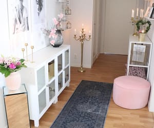 decor, decoration, and hallway image
