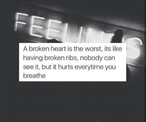 broken, hurt, and quotes image