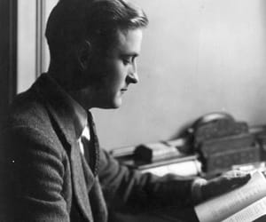 f. scott fitzgerald, fitzgerald, and the great gatsby image