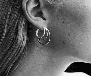 black, jewelry, and fashion image