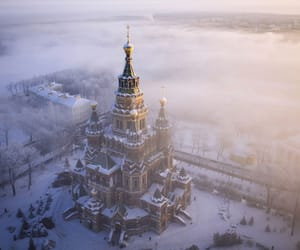 russia and snow image