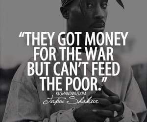 tupac, quotes, and money image