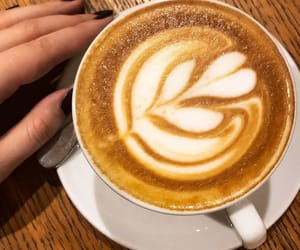 cappuccino, coffee, and colours image