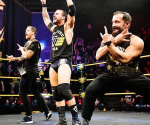 wwe, adam cole, and kyle o'reilly image