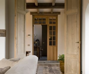 architecture, beige, and interior image
