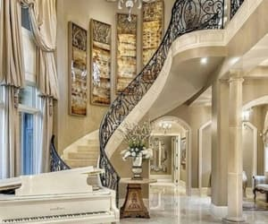 expensive, luxury, and stairs image