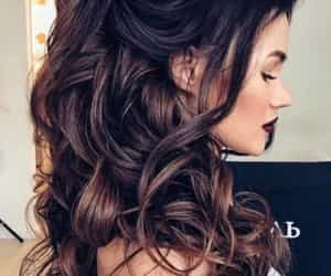 curled, hairstyles, and cute image