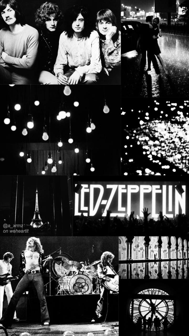 Led Zeppelin Wallpaper By Me Uploaded By Ximena