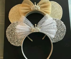 disney, mickie mouse, and gold image