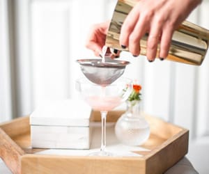 chic, drinks, and fresh taste image