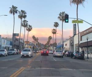 california, downtown LA, and la image