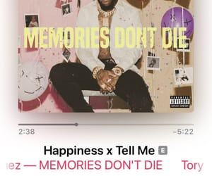 tory, tory lanez, and memories don't die image