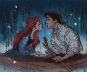 adorable, disney, and mermaid image