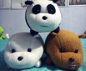 panda, plush, and polar image