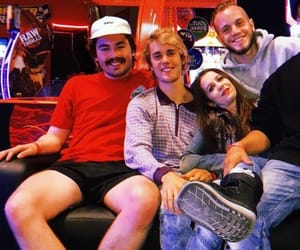 justin bieber, friends, and ryan butler image