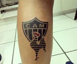 galo, tattoo, and atletico mineiro image