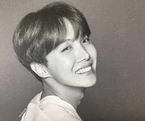 black and white, jhope, and jung hoseok image