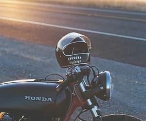 cafe racer, Honda, and motorbike image