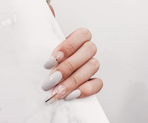 marble, nails, and quartz image
