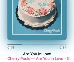 music, single, and cherry pools image
