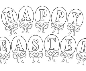 easter bunny and jesus coloring pages image