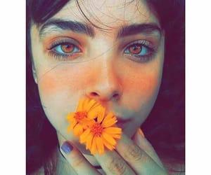 dz, eyes, and girl image