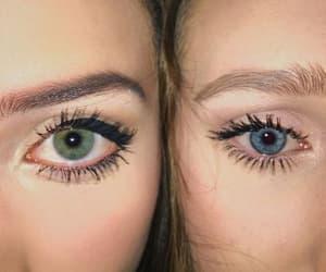blue, eyes, and girls image