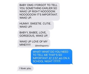 messages, love, and cute texts image