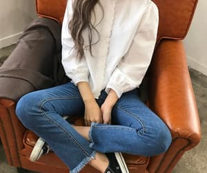 asian, ootd, and clothes image