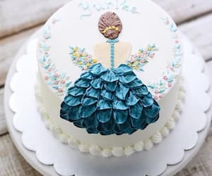 art, birthday cake, and cake image