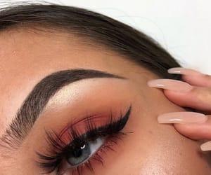 beautiful, blue eyes, and eye liner image
