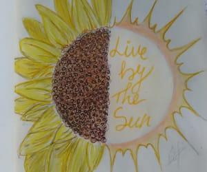 art, challenge, and sun image