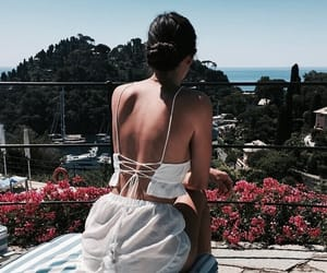 summer, girl cute fashion, and travel vacation image