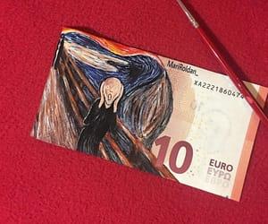 art, euro, and munch image
