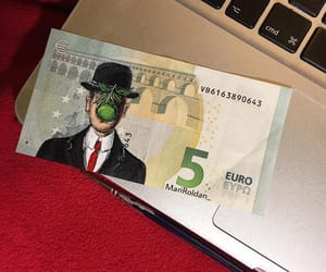 art, son of man, and euro image