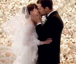Jamie Dornan, wedding, and dakota johnson image