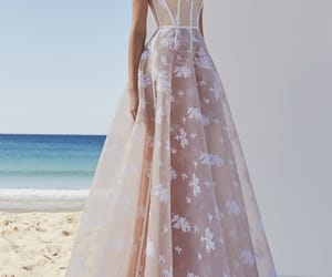 flowers, dress, and alex perry image