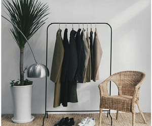 aesthetic, clothing rack, and tumblr image