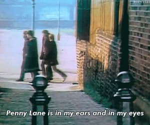 the beatles, penny lane, and gif image