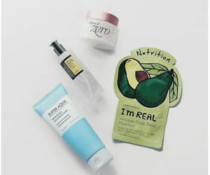 aesthetic, mask, and skincare image