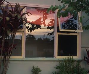 aesthetic, window, and theme image