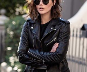black, veste, and clothes image