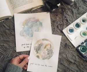 book, drawing, and painting image